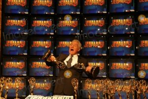 """at the ceremony entering """"Jeopardy"""" in to the Guinness World Records for being the game show with the most Emmy Awards. Sony Studios, Culver City, CA. 11-01-05"""