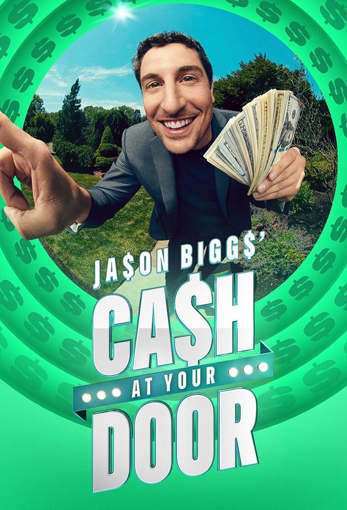 Jason Biggs' Cash At Your Door Logo